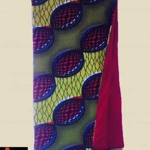 Écharpe chaude en tissu wax