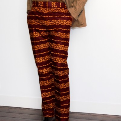 Costume 3 pièces wax pantalon