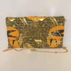 Sac pochette Kélé orange