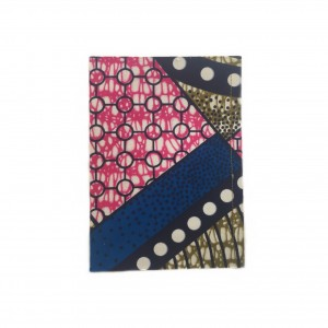 Carnet de note 80p wax rose bleu