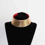 Collier spirale dorée awaxland