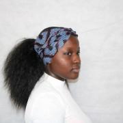 Accessoire wax: serre tête, head band, foulard, turban, cheveux, curlhair