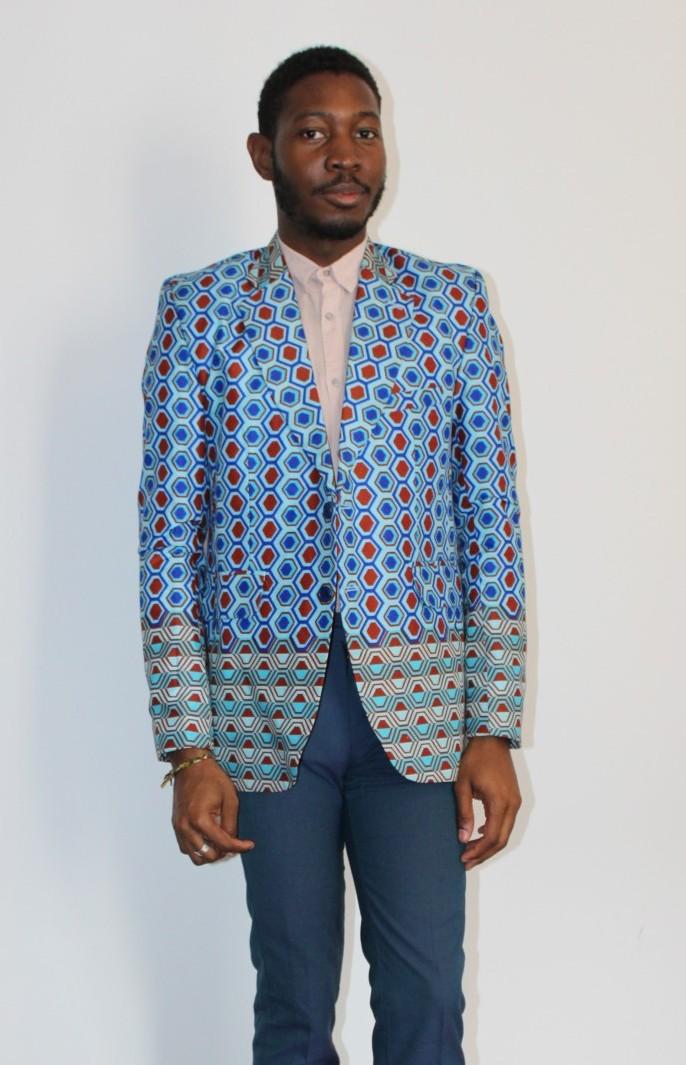 Veste de costume wax – AWAXLAND Paris